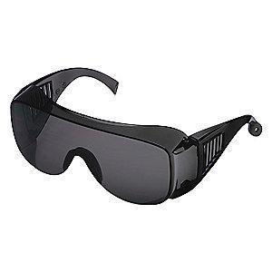 Condor Visitor Scratch-Resistant Safety Glasses, Gray Lens Color