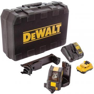 DeWalt 30m 10.8V Self-Levelling Cross Line Green Laser Level