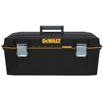 "DeWalt Portable Tool Box, 11-39/64""H x 28""W x 12-39/64""D, 21252 cu. in., Black"