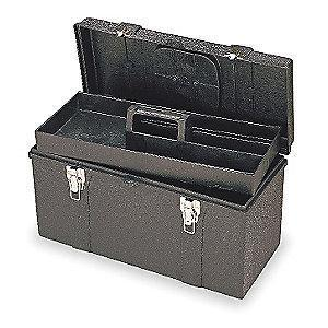 Proto Structural Foam Portable Tool Box, 2037 cu. in., Black