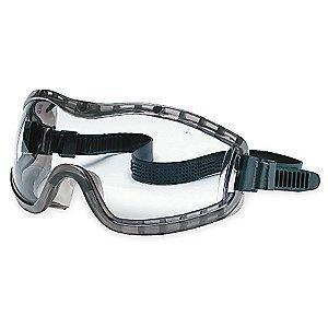 MCR Anti-Fog, Scratch-Resistant Chemical Splash Goggles, Clear Lens Color