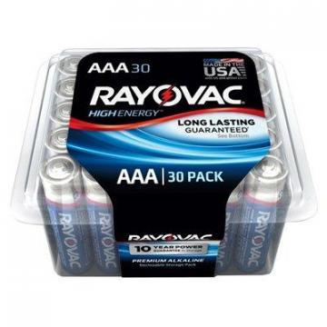 "Rayovac 30-Pack ""AAA"" Maximum Alkaline Pro Pack Batteries"