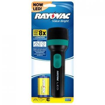 Rayovac LED Flashlight, 9 Lumens Bright