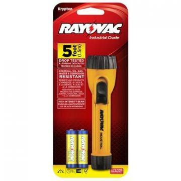 Rayovac Tool Lite Industrial Flashlight With Batteries