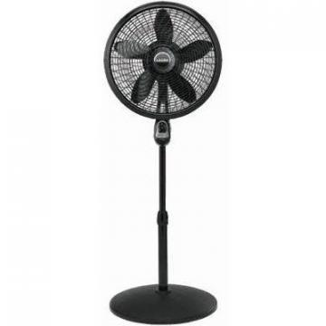 Lasko Pedestal Fan, Remote Control, 18-In.