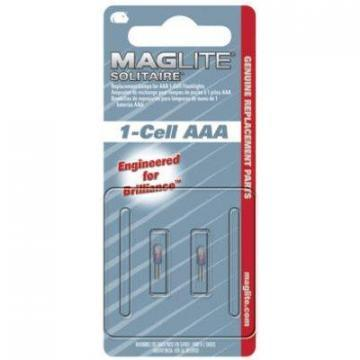 Maglite 2-Pack Solitaire AAA Cell Incandescent Replacement Lamp