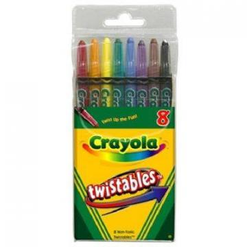 Crayola 8-Count Twistable Crayons