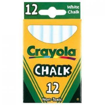 Crayola 12-Pack White Chalk