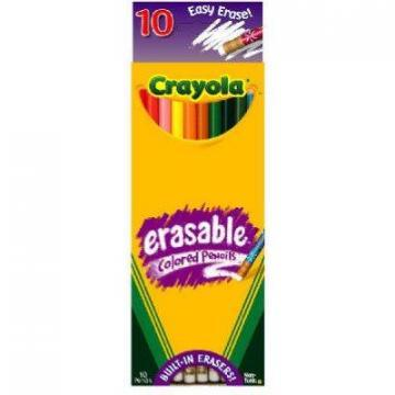 Crayola 10-Count Erasable Colored Pencils
