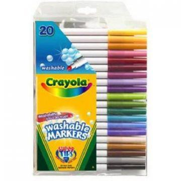 Crayola Super Tips 20-Count Fine Line Marker