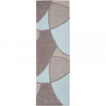 "Artistic Weavers Mably Gray Polyester 2' 6"" x 8' Runner"