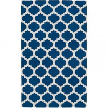 Artistic Weavers Taillades Royal Blue Wool Accent Rug - 2' x 3' Area Rug