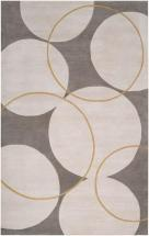 Artistic Weavers Norte Gray New Zealand Wool 2' x 3' Accent Rug