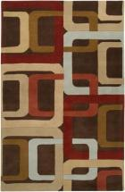 Artistic Weavers Osasco Chocolate Wool 5' x 8' Area Rug