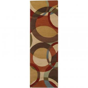 "Artistic Weavers Sablet Chocolate Wool 2' 6"" x 8' Runner"