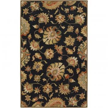 Artistic Burbank Black Wool  - 10' x 14' Area Rug