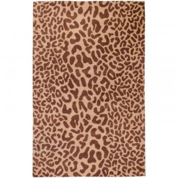 "Artistic Alhambra Tan Wool 7' 6 In x 9' 6"" Area Rug"