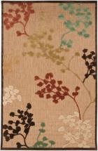 "Artistic Tariba Natural Olefin Indoor/Outdoor  - 7' 10"" x 10' 8"" Area Rug"