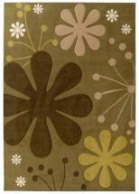 Lanart Urban Bloom Olive 2' x 8' Area Rug