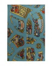 Lanart Designer Kids Urban Roadmap 6' x 8' Area Rug