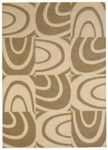 Lanart Windows Beige 9' x 12' Area Rug