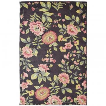 Lanart Chocolate Martha's Vineyard 5' x 8' Area Rug
