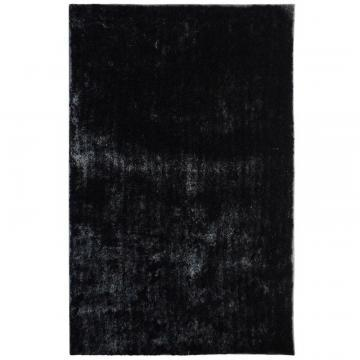 Lanart Black Silk Reflections 9' x 12' Area Rug