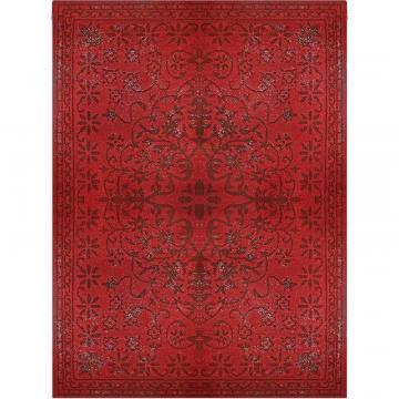 Lanart Red Vintage 6' x 9' Area Rug