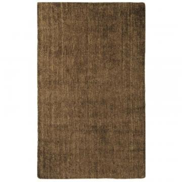 Lanart Brown Fleece Area Rug - 8' by 10'