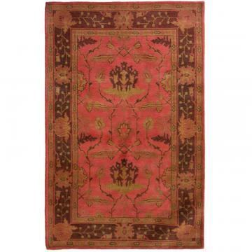 Lanart Ruby Antiquity 4' x 6' Area Rug