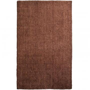 Lanart Rust Fleece 5' x 8' Area Rug