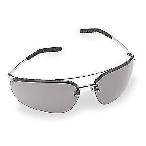 3M Metaliks  Anti-Fog Safety Glasses, Gray Lens Color