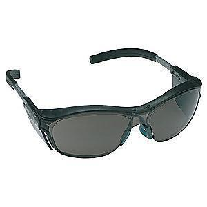 3M Nuvo  Anti-Fog Safety Glasses, Gray Lens Color