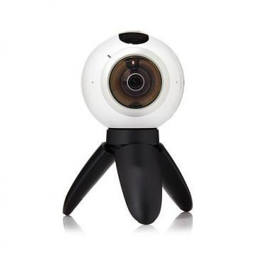 Samsung Gear 360 Camera with Tripod and Accessories