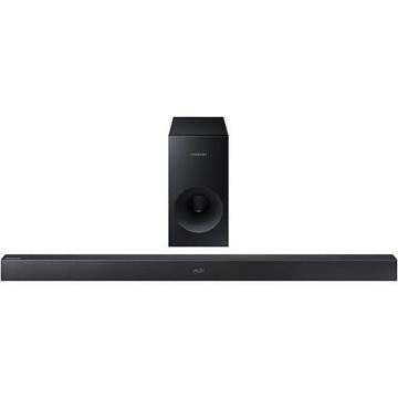 Samsung 2.1-Channel 130-Watt Wireless Soundbar with Active Subwoofer