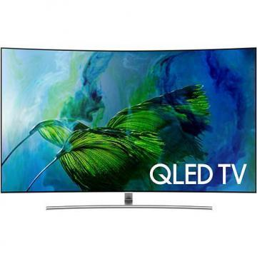 "Samsung QN55Q8CAMF 55"" Curve 4K QLED TV with OneRemote"