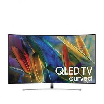 "Samsung QN55Q7CAM 55"" Curve 4K QLED TV with OneRemote"