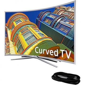 "Samsung UN49K62500 49"" LED Curved Smart HDTV  with 6' HDMI Cable"