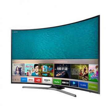 "Samsung UN55KU6500 55"" 4K LED Ultra-HD Curved Smart TV"