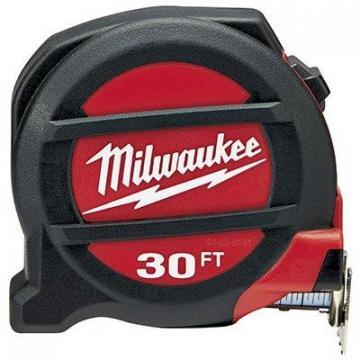 Milwaukee Tape Measure, 30-Ft.