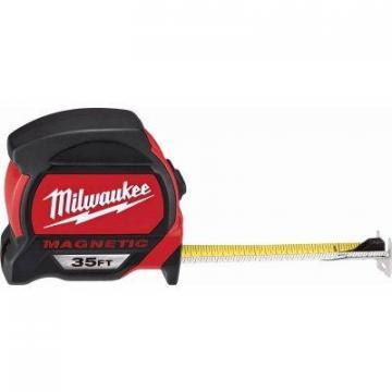 Milwaukee Magnetic Tape Measure, 35-Ft.