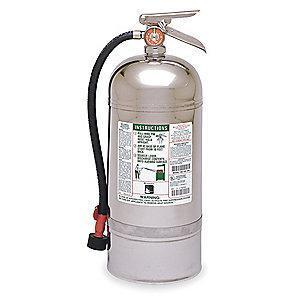 Kidde Wet Chemical Fire Extinguisher, 12.68 lb, 55 to 60 sec. Discharge Time