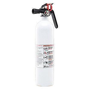 Kidde Dry Chemical Fire Extinguisher, 2.5 lb, 8 to 10 sec. Discharge Time