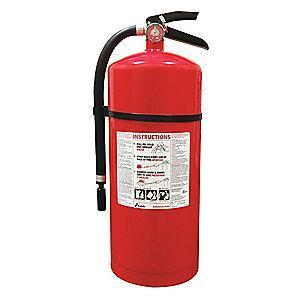 Kidde Dry Chemical Fire Extinguisher, 20 lb, 19 to 22 sec. Discharge Time