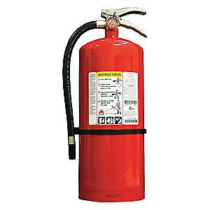 Kidde Dry Chemical Fire Extinguisher, 20 lb, 26 to 28 sec. Discharge Time