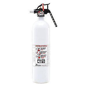 Kidde Dry Chemical Marine Fire Extinguisher, 2.5 lb, 8 to 12 sec. Discharge Time