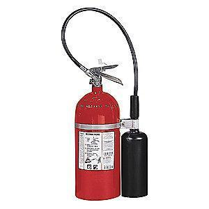 Kidde Carbon Dioxide Fire Extinguisher, 10 lb, 8 to 10 sec. Discharge Time