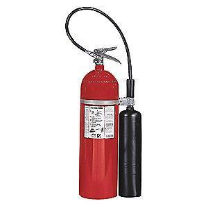 Kidde Carbon Dioxide Fire Extinguisher, 15 lb, 12 to 14 sec. Discharge Time