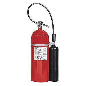 Kidde Carbon Dioxide Fire Extinguisher, 20 lb, 15 to 17 sec. Discharge Time