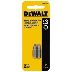 DeWalt #3 Square Recess Power Bit